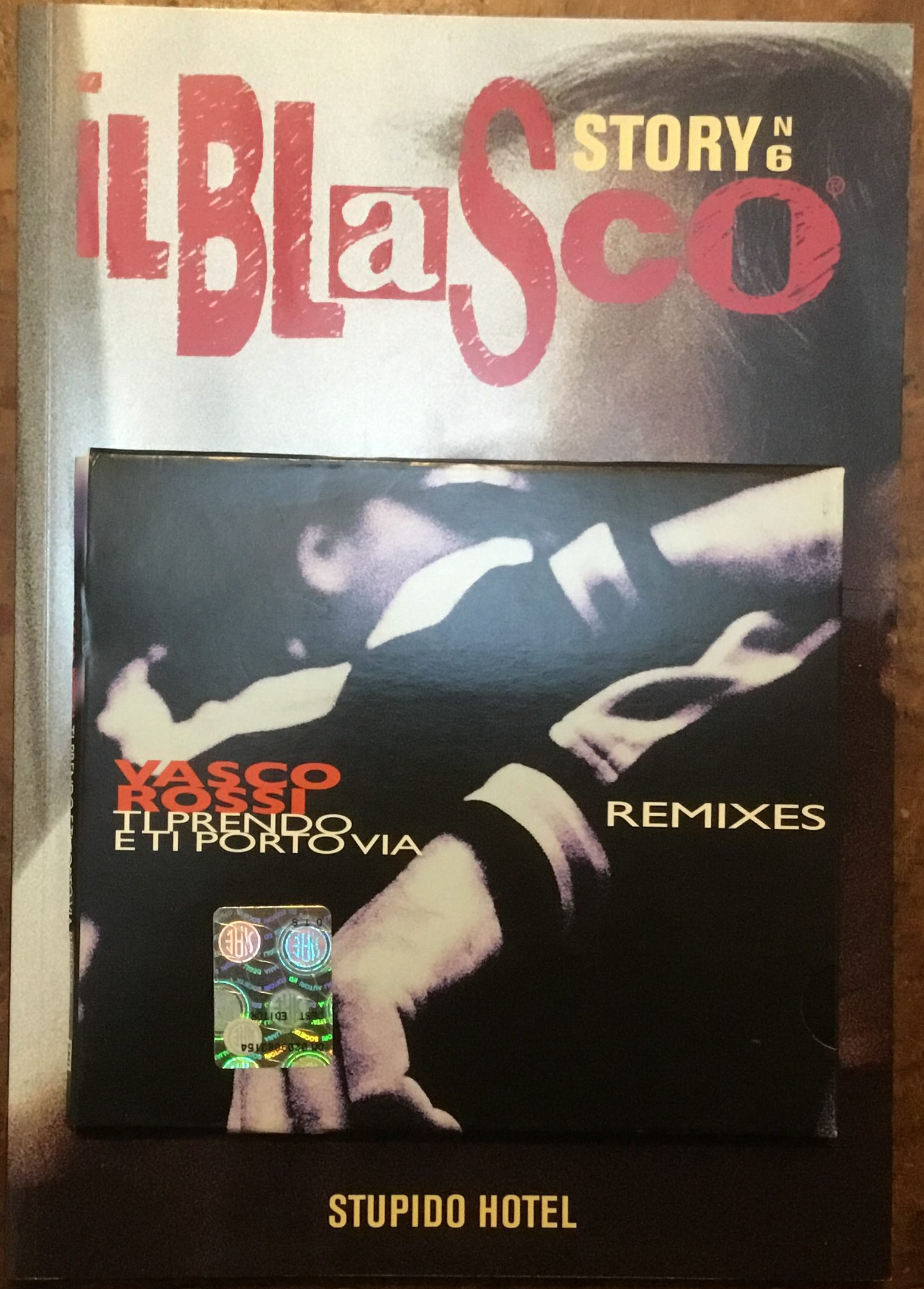 Il Blasco Story n.7, Rivista con allegato CD 'Cosa vuoi da me Remix' (Dest. Editoriale)
