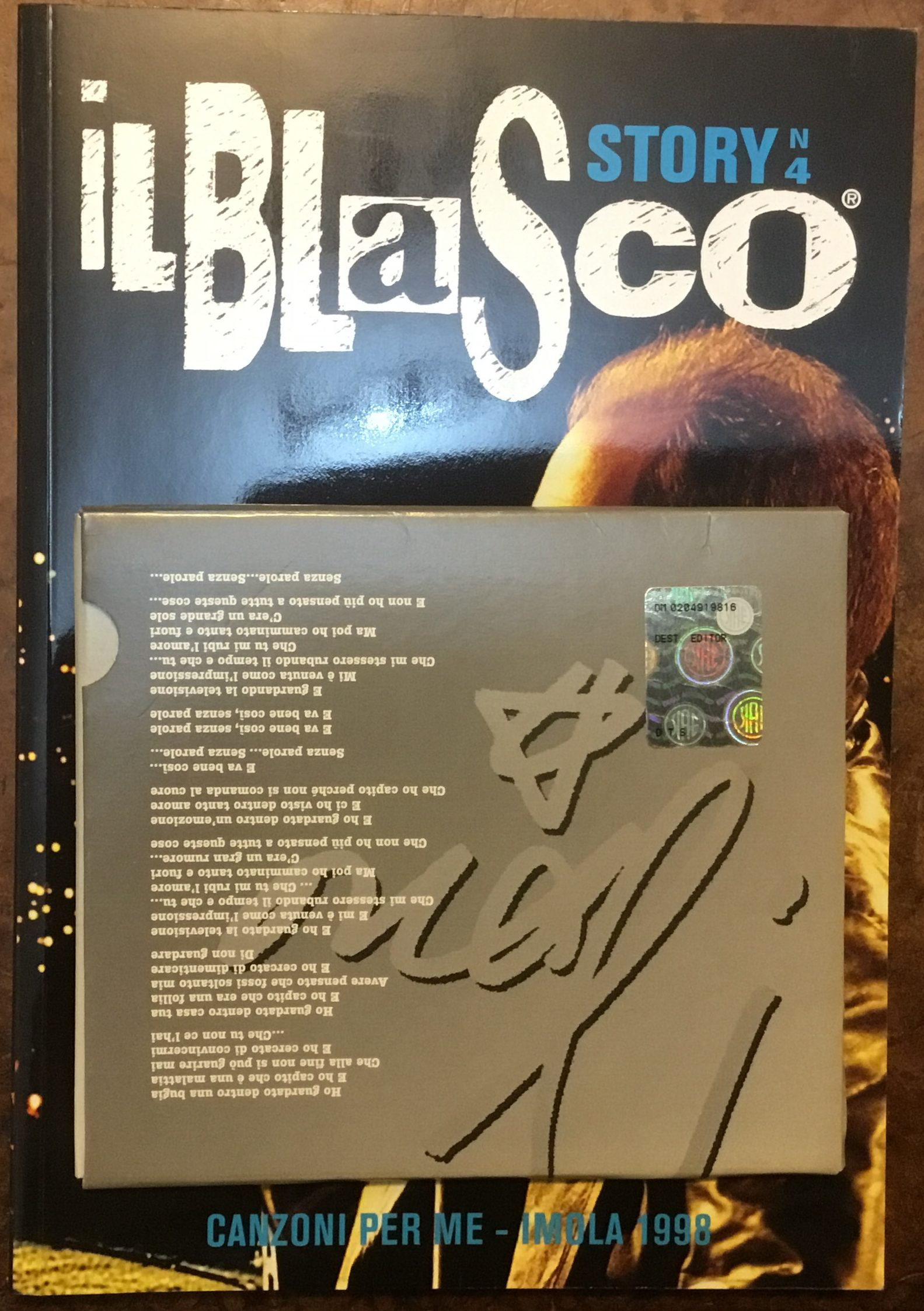 Il Blasco Story n.6, Rivista con allegato CD 'Ti prendo e ti porto via Remix' (Dest. Editoriale)